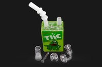 2016 New designs glass bong cereal box bong oil rig bong smo...