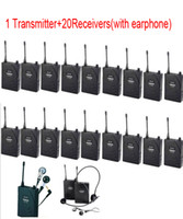 Wireless Assistive Listening Tour Guide System translation s...