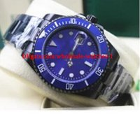Christmas gift Luxury Brand New Blue Dial And Bezel Ceramic ...