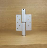 6 inch onzichtbare deur aluminium hydraulische drukmute deur scharnier buffering positionering automatisch gesloten deur dichterbij het linker scharnier