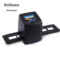"""Мини-5MP 35 мм негативная пленка сканер негативный слайд фотопленка преобразует USB-кабель LCD слайд 2.4 """" TFT для изображения США / ЕС Plug"""