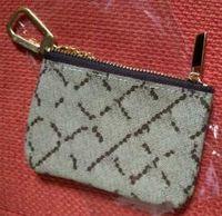 KEY POUCH 다미에 가죽은 고전적인 디자이너 여성 열쇠 고리 동전 지갑 작은 pu 가죽 제품 봉지를 고명하게 붙들 n 다