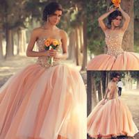 Custom Peach Ball Clange Prom Transples Sexy Bredless Twibeanera Twineanera Vestidos Festa 2018 Sweet 16 платья вечеринка вечернее платье
