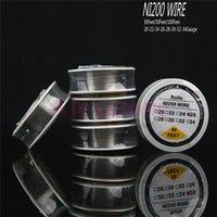 NI 200 Nikkeldraad NI200 Draadverwarmingsweerstand Coil Wick 30 Feet Spool AWG 22 24 26 28 30 32 Gauge voor RDA Nichrome 80 DHL