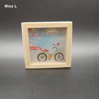 Padrão de bicicleta Equilíbrio Labirinto Série Early Childhood Brinquedos Educativos Puzzle Intelectual Jogos Pequeno Labirinto Presente Criança Criança