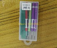 O envio gratuito de alta qualidade 8 em 1 kit de chave de fenda screwdriver ferramenta de reparo aberto para iphone 7 7 plus com pacote