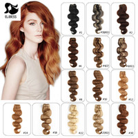 Wholesale clip in hair extensions buy cheap hair extensions from elibess hair clip in human hair 100g 7pcs pmusecretfo Gallery
