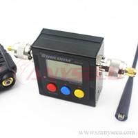 Novo modelo Surecom SW-102 VSWR 100 - 520MHz Medidor com contador de frequência Medidor de energia para Walkie Handheld Walkie