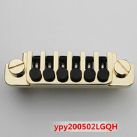 Chitarra elettrica in stile 1pcs LP SG con ponte inferiore, chitarra elettrica fissa Bridge.Gold
