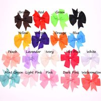 Wholesale 90pcs clothing hair accessories swallow- tailed Rib...