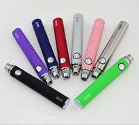 eGo E Zigarette EVOD Batterie 650mAh 900mah 1100mah EVOD Batterie für MT3 CE4 CE5 CE6 elektronische Zigarette E Cig Kit bunte Batterie Instock