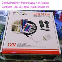 Colorful Packing + Power supply 72Watts + 24Key IR remote con...