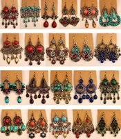 high quality vintage jewelry earrings for women magnet big f...