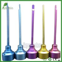 Domeless Titanium Nail Color Anodized Colorful gr2 Titanium ...