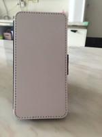 5 5S caso di sublimazione di cuoio DIY spazi vuoti con magnete e slot per schede per iphone 5 s spedizione gratuita 100pcs / lot