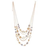 Coloré pierres précieuses multi-couche collier déclaration gland collier mode pull accessoires cristal bijoux beauté cadeaux pour les femmes