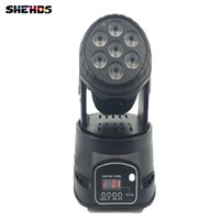 Fast Shipping LED Moving Head Mini Wash 7x12w RGBW Quad with...