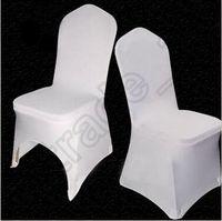 200 قطع cca4085 جودة عالية العالمي الأبيض البوليستر دنة أغطية كرسي الزفاف لحفلات الزفاف مأدبة للطي فندق الديكور كرسي غطاء