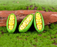10pcs yellow expression peas Landscaping decor fairy garden ...