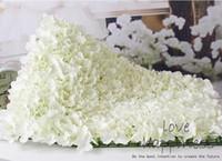 10pcs Artificiale seta ortensia fiore parete sfondo matrimonio prato / pilastro strada piombo fiori palla decorazione del mercato interno