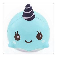 Jumbo Squishies Millie Whale Squishy Soft Slow Rising Squish...