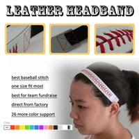 2016 wholesale new design 26 colors SOFTBALL SEAMSTITCH HEAD...