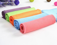 0295 - Bottom Price 360pcs/lot 30*30cm 3P Fish Scale Lines Glass Clean Cloth Washing Magic Wipping Sponges Scouring Pads Car Clean