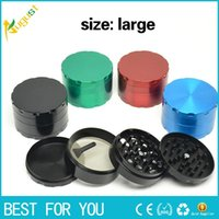 herb metal grinder 4 parts Hard top dry herb vaporizer Diame...