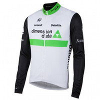WINTER FLEECE THERMAL ONLY CYCLING JACKETS CLOTHING LONG JERSEY ROPA CICLISMO TOUR DE FRANCE 2016 DIMENSION DATA TEAM D04 SIZE:XS-4XL