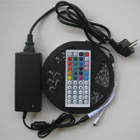 8 photos wholesale plug christmas light controller 5m rgb led strip light waterproof flexible light ip65 key