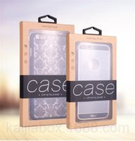 Universal Mobile phone Case Package Kraft Paper Retail Packa...