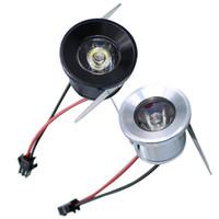 Hot Carbinet luzes LED downlights 1 W 3 W LEVOU escritório em casa iluminação interior mini Recesso downlight LED de alta potência