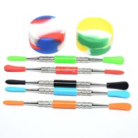 1set wax dabber tool wax Silicone Kit Set With Large 2pcs Si...