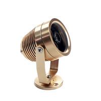 Lámpara de luz de buceo, luz de buceo, punto de inundación LED, impermeable al aire libre, 3x1W, blanco / blanco cálido