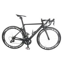 2018 yeni varış tam karbon bisiklet T1000 UD tamamlanan bisiklet UD mat / parlak çerçeve + tekerlekler + gidon + eyer + origina R8000 groupset tam bisiklet