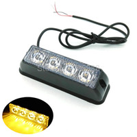4 LED 4 Watt Mini Compact side Front rear surface mount dire...