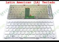 Nuova tastiera portatile per Sony Vaio VPC-W VPC W VPC-W217 Argento latino LA -Similar spagnolo / espanol SP Teclado 148751322 AESY2L00010