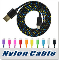 Micro USB Cable S7 S6 High Speed Nylon Braided Cables Chargi...