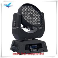 A- (6 / lot) 36x10w rgbw führte beweglichen Kopf der Wäsche 13 DMX-Kanäle RGBW-Wäsche helles Stadiumslicht DJ-Licht LED