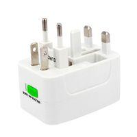 Все в одном зарядных устройствах Универсальный проточный адаптер Travel World AC / DC Socket Power Charger Adapter с Eu UK US AU Converter