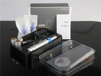 Kablosuz Derma Pen Güçlü Dr Kalem Ultima A6 İle İki Piller Şarj edilebilir Elektrikli Derma Pen Microneedle Dermapen Dermastamp 0.25-2.5mm