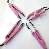 Loof Brand New Fusion Hair Extension Iron Keratin Bonding Tool Temperatura ajustable Fusion Conector de calor Envío gratis