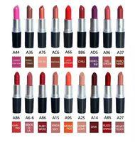 뜨거운 판매 브랜드 메이크업 고품질 알루미늄 튜브 루비 디바 반군 매트 립스틱 립스틱 도매 우