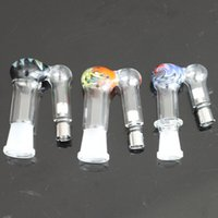 Beautiful color glass bong adapter for ego ecigarette vaporizer glass adapter of electronic cigarette glass vaporizer adapter
