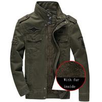 698bfe53fdd4c 2016 de alta calidad de lana invierno para hombre ejército soldado chaqueta  de algodón de la