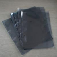 2018 Sıcak Satış Hediyelik Çantalar Düz Anti-statik Koruyucu Esd Plastik Açık Üst Çanta 100 adet ücretsiz Kargo Ambalaj Pcb Parçaları Apet / cpp Elektrostatik