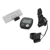 Sunding SD-536 imprägniern Digital LCD Fahrrad-Computer-Zyklus-Fahrrad-Geschwindigkeitsmesser-Entfernungsmesser 14 Funktionen LR44 Knopf schließen Batterie mit ein