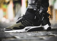 acronym x nike air presto face mask; original qulaity famous air presto mid presto  acronym white black hot lava high top mens running