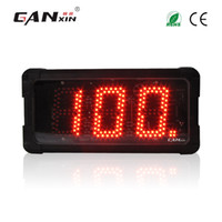 [GANXIN] 5 인치 3 자리 야외 사용 방수 붉은 색 좋은 품질 대형 디지털 카운터 LED가 더블 사인 디스플레이