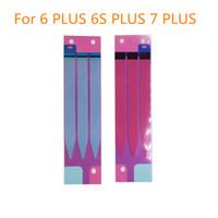 Piezas de reemplazo de la etiqueta de la tira de la cinta adhesiva de la batería Piezas de repuesto para el iPhone 4 5 5s 6 6plus 6s 6s Plus 7 7 Plus 8 x